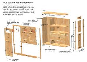 Simple Kitchen Cabinet Plans cabinet plan wood for woodworking projects shed plans course