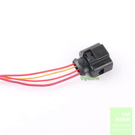 for vw audi skoda 4 way new 4 pin connector plug wire
