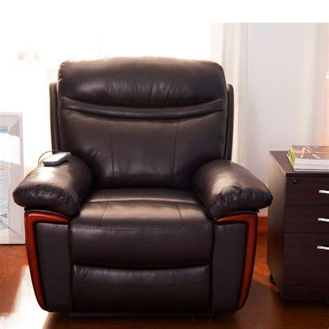 power massage recliner chair power massage reclining chair with heat and massage heated