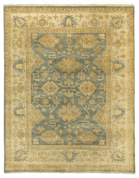 Antique Looking Area Rugs Ordu Antique Style Woven Oushak Rug Gold And Silver Traditional Area Rugs By Exquisite Rugs