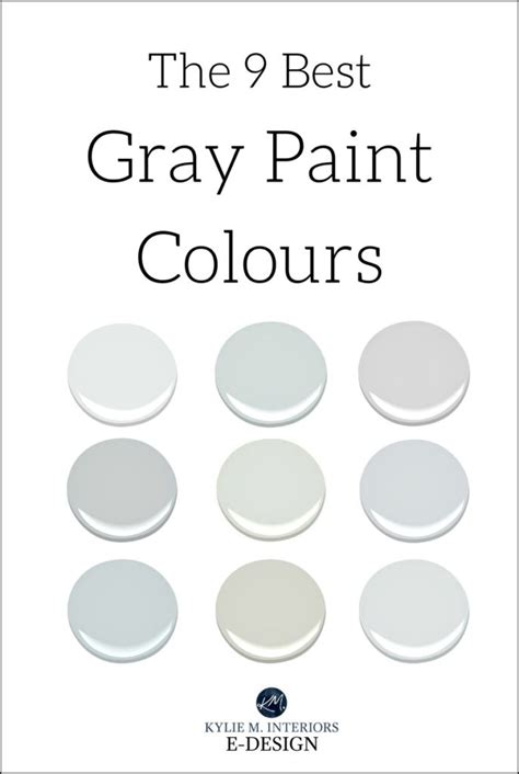 The 9 Best Benjamin Moore Paint Colors ? Grays (Including