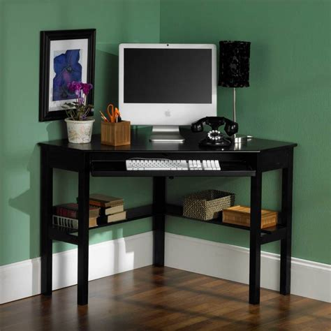 Corner Desks For Home Office Ikea Space Saving Home Office Ideas With Ikea Desks For Small Spaces Homesfeed