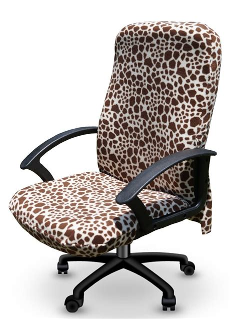 Decorative print office chair cover cube decor zone