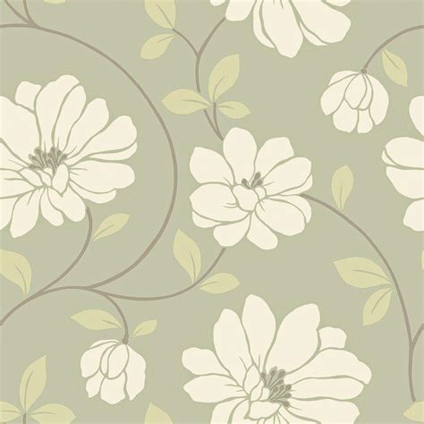 modern floral wallpaper the wallpaper company 56 sq ft red black and cream