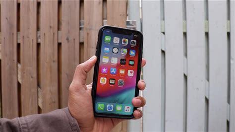 spigen ultra hybrid matte black iphone xr unboxing and review