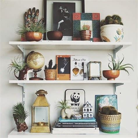 shelf decorating ideas best 25 shelf arrangement ideas on ladder