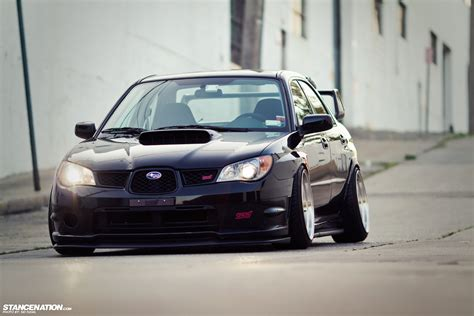 subaru stance low loud vic s slammed subaru sti stancenation