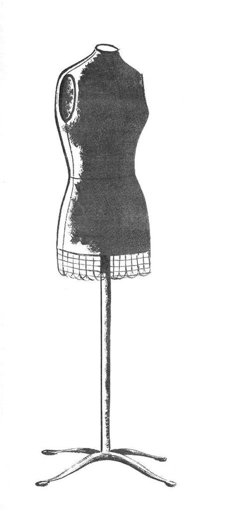retro clip art cute dress forms  graphics fairy