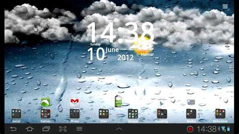 wallpaper weather windows 7 go weather live wallpaper youtube
