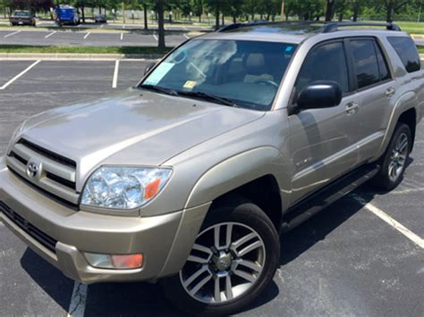 used toyota 4runner for sale in va toyota 4runner for sale virginia va carsforsale