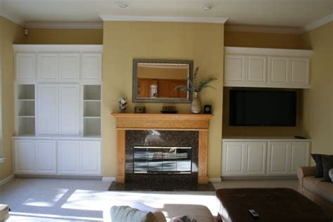 built in cabinet living room images