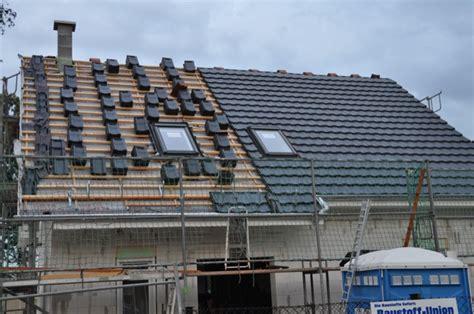 Dachsteine Dachziegel Vorteile Nachteile by Dacheindeckung Mit Engobiertem Ziegel Jacobi Z10 In