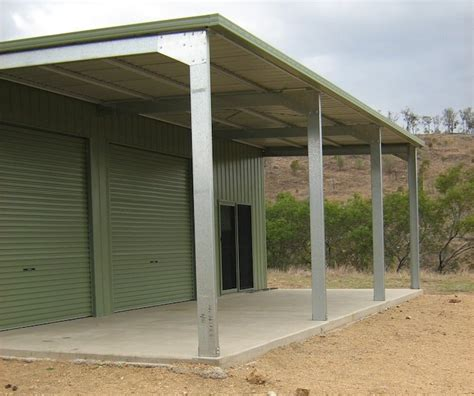 Awning Shed by Sheds Shed Constructions Qld Pty Ltd Shed Constructions