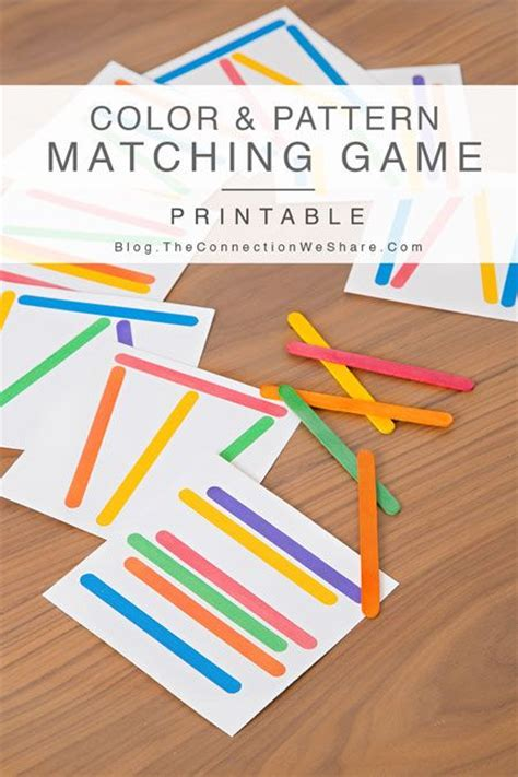 Pattern Matching Quiz | matching games games for kids and color patterns on pinterest