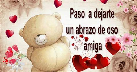 imagenes feliz navidad para una amiga abrazo de oso para ti amiga im 225 genes y postales de amor