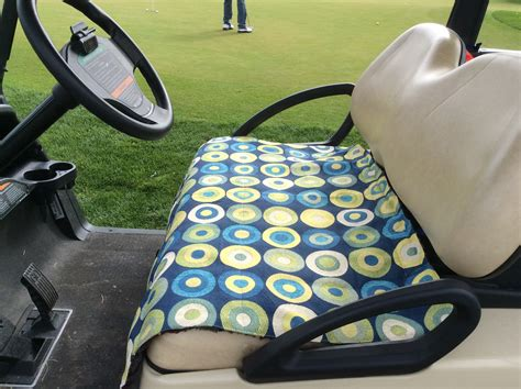 make your own seat covers make your own golf car seat cover