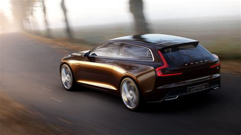 volvo concept estate to spawn v90 luxury wagon report