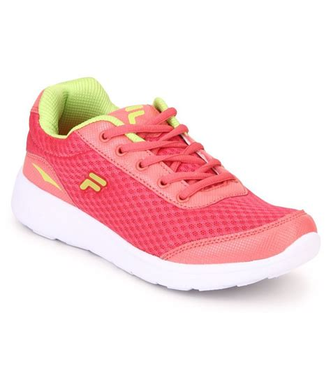 fila pink running shoes price in india buy fila pink