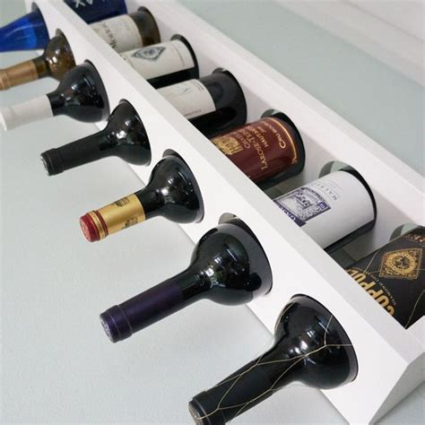 Diy Wall Mounted Wine Rack diy wall mounted wine rack