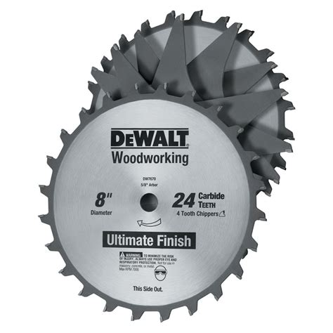 dewalt table saw dado blade dado blades shop a variety of blades at sears
