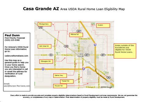 rural housing loan qualifications map for usda rural development real estate loan in casa grande az