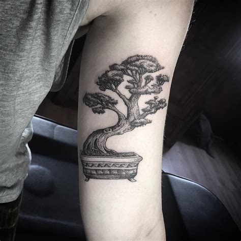 bonsai tattoo so happy with this bonsai for chelsea yeahtattoos
