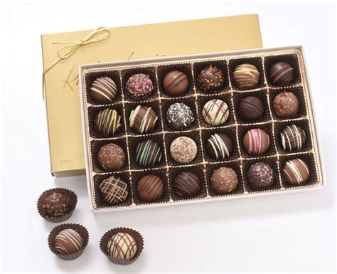 Handmade Chocolate Gifts - assorted mousse truffle gift box 23 99 richardson s