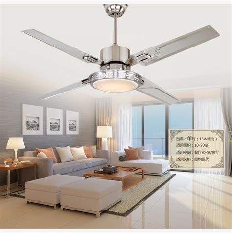 Bedroom Ceiling Fans With Lights 48inch Remote Ceiling Fan Lights Led Bedroom Ceiling L Fan Light Minimalism Modern
