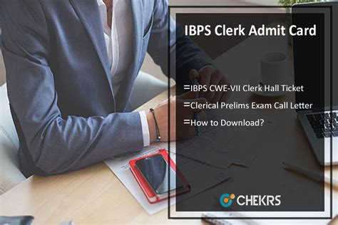 Permission Letter Of Ibps Clerk 2017 Ibps Clerk Admit Card 2017 Prelims Ticket Call Letter