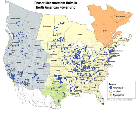 american energy map new technology can improve electric power system