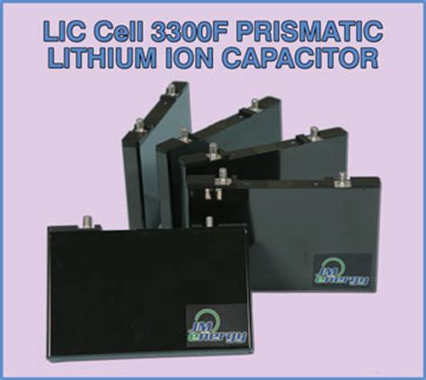 lithium ion capacitor capacitors lithium ion capacitor ultimo prismatic lic cell 3300f electro standards laboratories