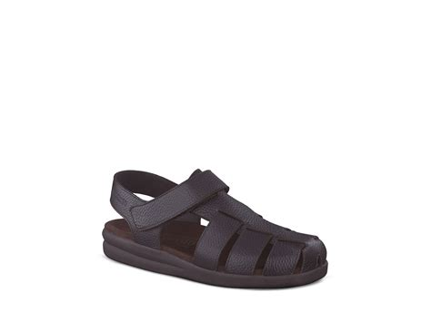mephisto sandals mens mephisto sancho fisherman sandals in brown for lyst