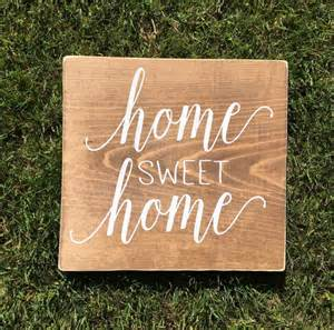 new home sign home sweet home new home sign housewarming gift by