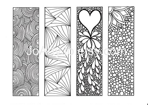free printable bookmarks you can color bookmarks to color free google search library ideas