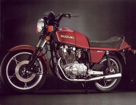 1982 Suzuki Gs450t Suzuki Gs450 Brochures