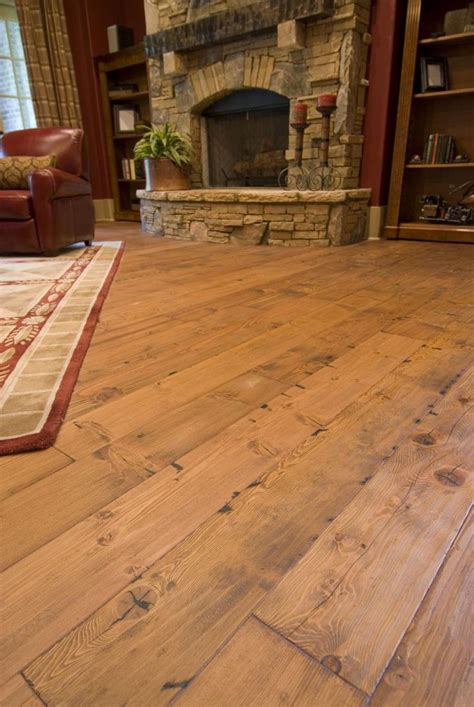 heart pine reclaimed wide plank flooring tavern grade