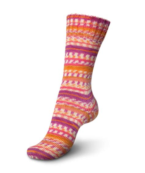 knitting pattern socks 8 ply regia super jaquard color 4 ply sock yarn 7203 parrot
