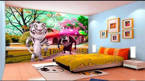 3d wallpaper for bedroom amazing room 3d wallpaper ideas childrens bedroom
