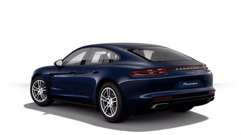 blue porsche panamera 2017 2017 porsche panamera exterior color options