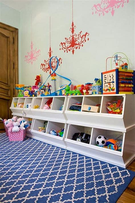 kids playroom storage 20 creative toy storage ideas hative