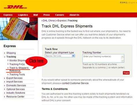 Phone Number Address Tracker Dhl Tracking Package