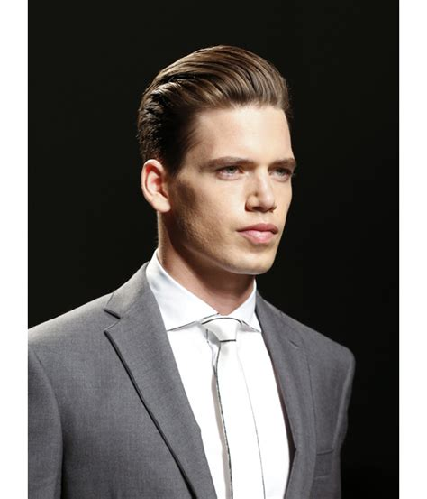 comment se coiffer les cheveux en arriere
