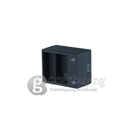 Dual Slot Travel Charger With Battery For Gopro 4 high quality dual slot battery charger for gopro