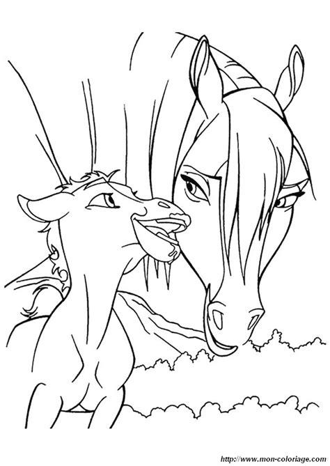 Ausmalbilder Pferde Bild 3221 S Coloriage Cheval Jument Et Poulain L
