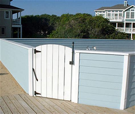 Home Pools by Outer Banks Deck Amp Fence Co Decking Fencing And