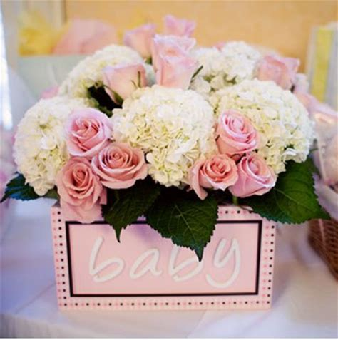 Flowers For Baby Shower by A Childhood Baby Shower Ideas