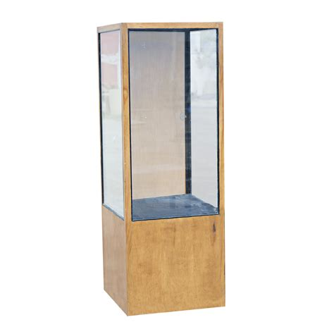 wood and glass display display cases deals on 1001 blocks