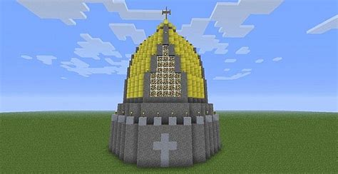 Cupola Cap Gold Cap Cupola Minecraft Project