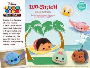 Lilo amp stitch tsum tsum collection release july 7th my tsum tsum
