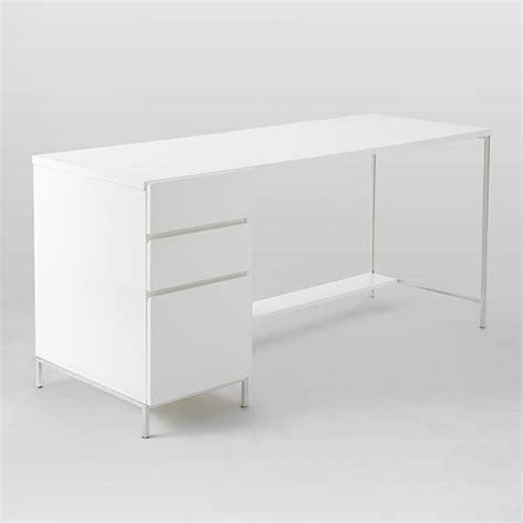 White Lacquer Desk Accessories Lacquer Storage Desk Set Box File West Elm